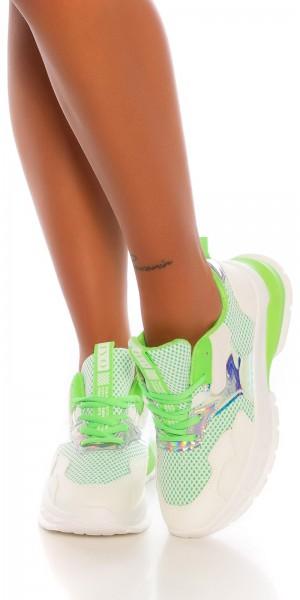 Trendy chunky sneakers