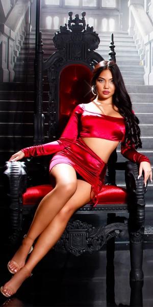 Sexy Koucla PartyKleid mit Sexy Einblick