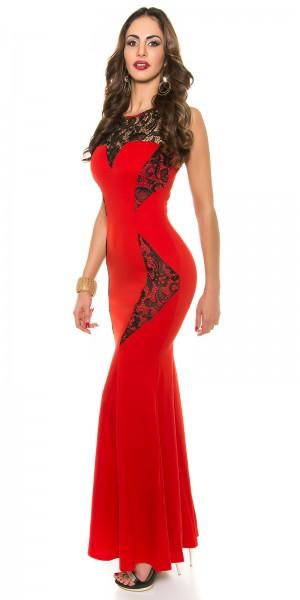 Red Carpet Look! Koucla Abendkleid mit Stickerei