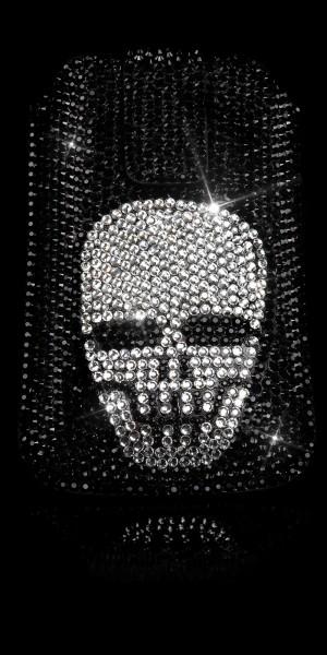 Glamour Handybag mit Skull