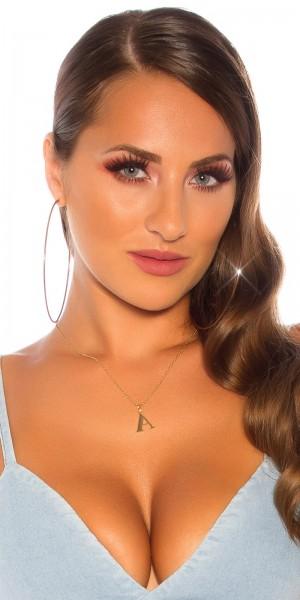 Sexy Buchstaben Halskette A