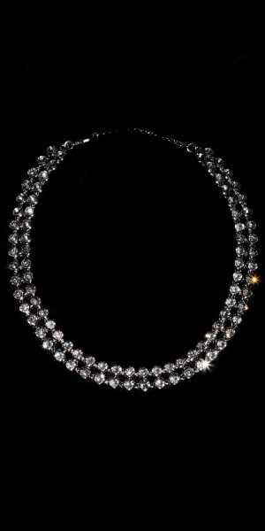 Edles Strass-Collier