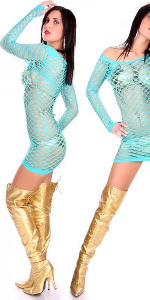 Sexy Netz-Minikleid
